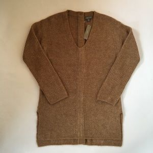 J. Crew POINT SUR Open Button Back Sweater NWT
